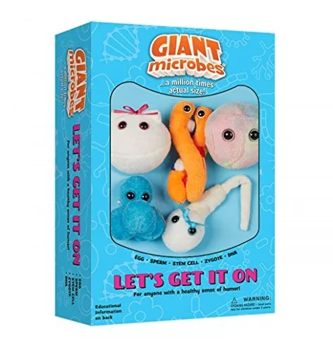 Giantmicrobes Themed Gift Boxes – Let's Get It On