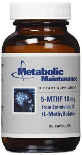 Metabolic Maintenance MTHF Capsules, 90 Count