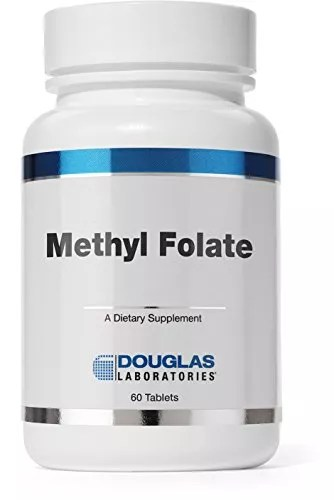 Douglas Laboratories® – Methyl Folate (5-MTHF) – Identical to the Naturally Occurring Form of Folate Essential for Overall Health* – 60 Tablets