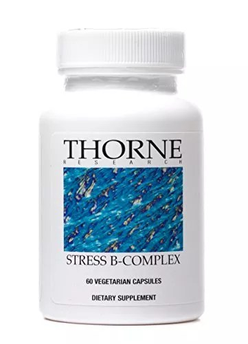 Thorne Research – Stress B-Complex – Vitamin B Supplement for Adrenal Support and Stress Management – 60 Capsules