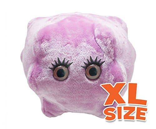 Giant Microbes Kissing Disease (Epstein-Barr) Plush Toy