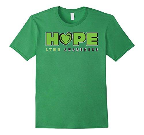 LYME Disease Awareness – Hope – Male XL – Grass
