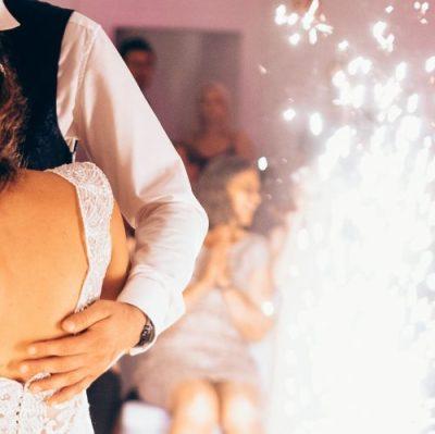 Fontänen Hochzeitstanz