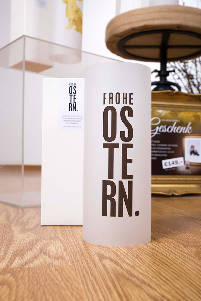 PAPER LIGHT SHADE - Frohe Ostern - aus dem Hause MORI