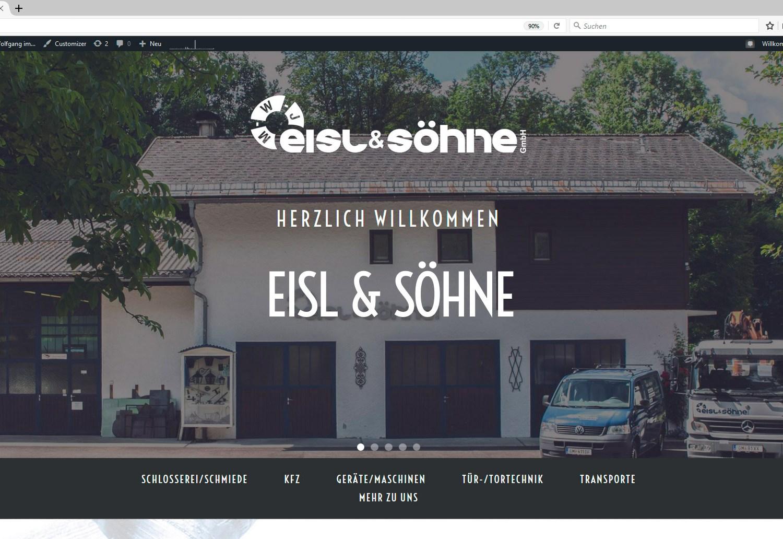 Eisl & Söhne Website