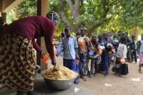 Distribution du repas