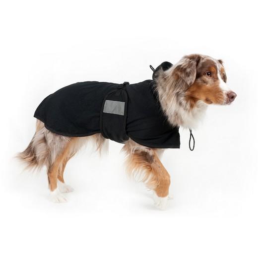 Manteau imperméable pour chien en tissu thérapeutique