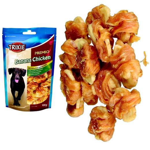 Friandise Premio pour chien - Poulet / banane