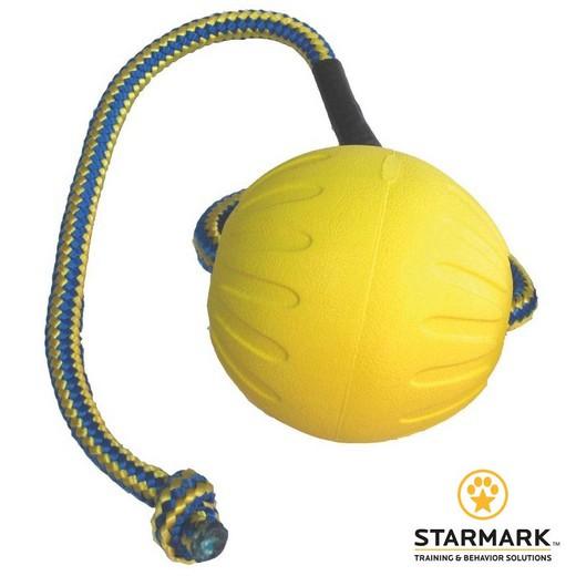 Jouet pour chien Fantastic Foam Ball avec corde