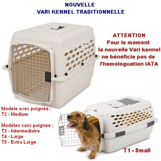 Cage de transport Vari Kennel Traditionnelle, chien et chat