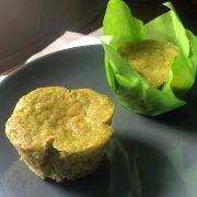 muffin moringa vegano