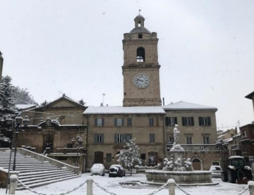 Nevicata Porto San Giorgio - febbraio 2018