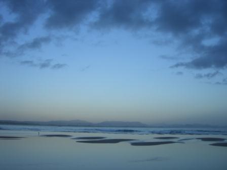 バイロンベイの夜明け