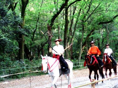 2015年京都下鴨神社流鏑馬儀式