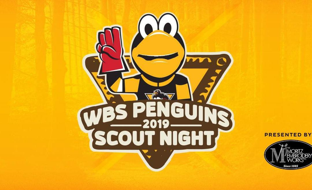 Penguins Scout Night Presented By The Moritz Embroidery Works