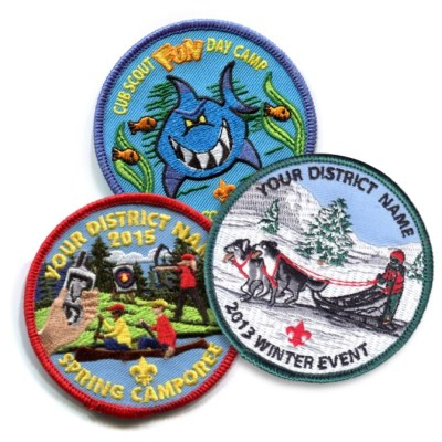 BSA Event Patches