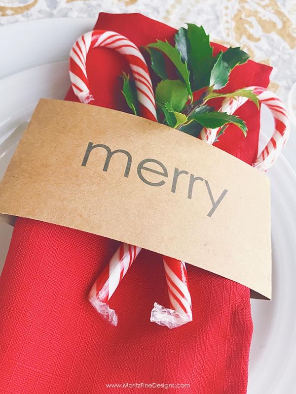 Free Printable Christmas Table Decor Friday Favorite 5