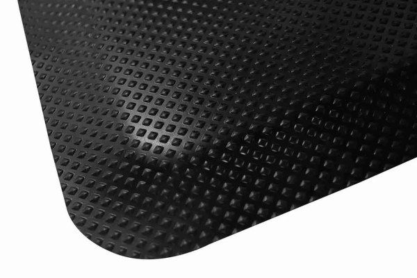 Close up of a corner of Morland Comfort Anti-fatigue mat on a white background
