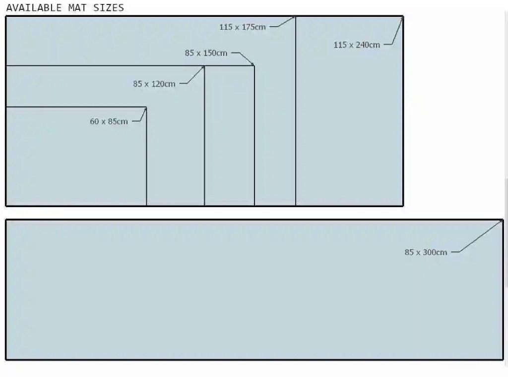 Door Mat Size Tool