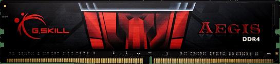 זכרון לנייח G SKILL F4-3000C16S-16GISB 16GB DDR4 3000MHz AEGIS thumbnail