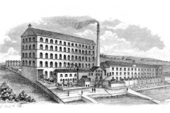 The Gillroyd Mill in 1866