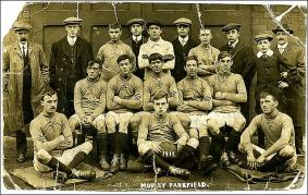 The Football team at Parkfield Mill