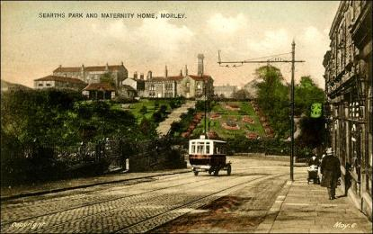 View of Scarth's Park and Morley Maternity Home