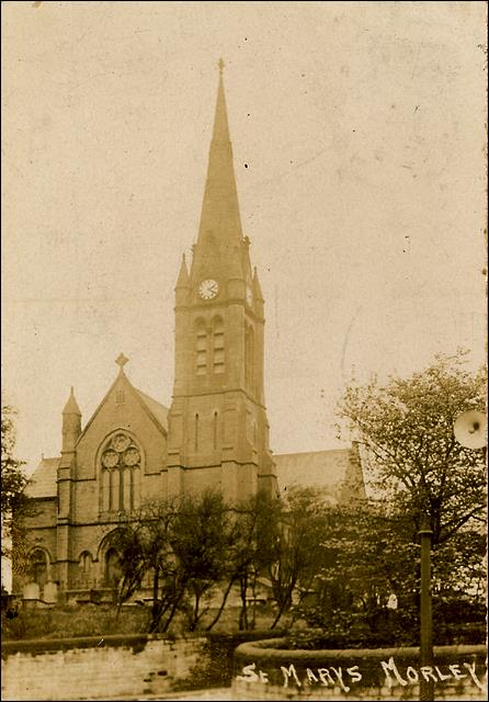 View of St Mary's Church, Commercial Street Morley
