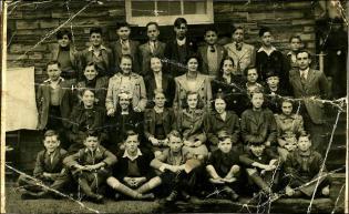 Pupils and Teacher at Drighlington Junior School
