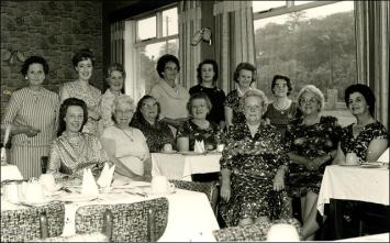 Ruby Wedding celebration of Mrs. A. Foster, at the Chestnut Restaurant, Whitehall Road