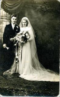 Marriage photo Cyril Dove and Maida