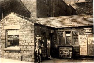 Joseph Watson's footwear repair shop in Bridge Street
