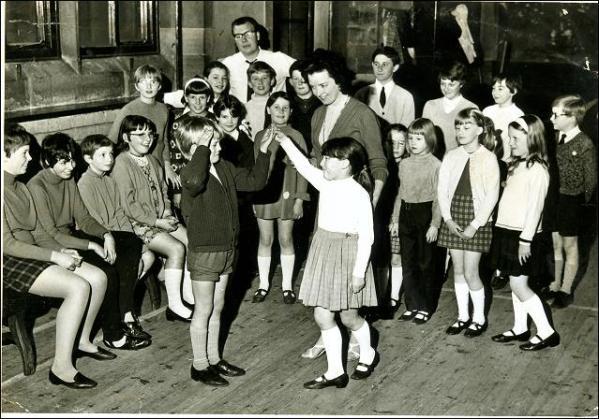 Dancing group, Barracuda Youth Club, Drighlington