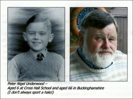 Peter Underwood, aged 6 and 66