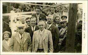 Group photo taken in Bridlington including Benjamin Fothergill born 1872