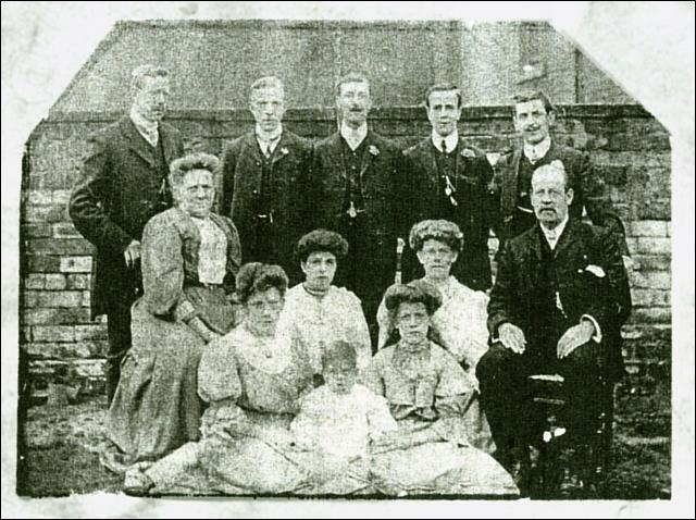 Group photograph of Fielding Family