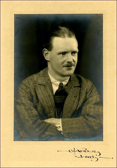 Studio photo of Reginald Furness