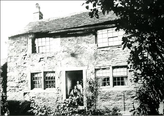 Photograph of 42, Morley Hole home of Manoah Bentley