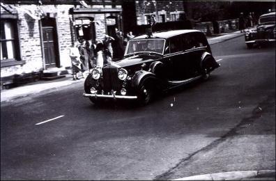 Close up of Queen Elizabeth II's car in King Street