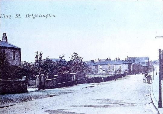 King Street, Drighlington, looking towards the crossroads