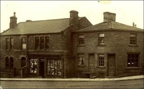 Shop and Houses at the junction of Wakefield Road and King Street