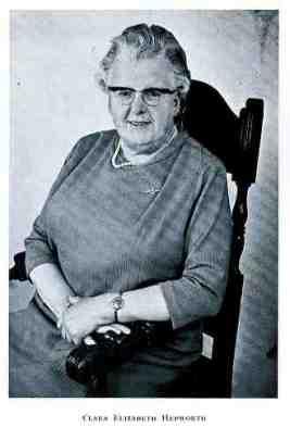 Clara E. Hepworth - Freeman of Morley and Mayor