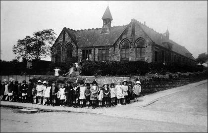 Westerton Council School and School Children