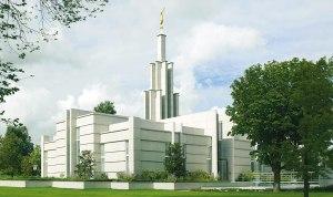 Mormoonse tempel in Zoetermeer bij Den Haag