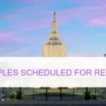 Two Temples Scheduled to be Closed