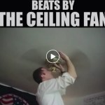 LDS Missionary Makes Music from Unlikely Source – a Ceiling Fan!