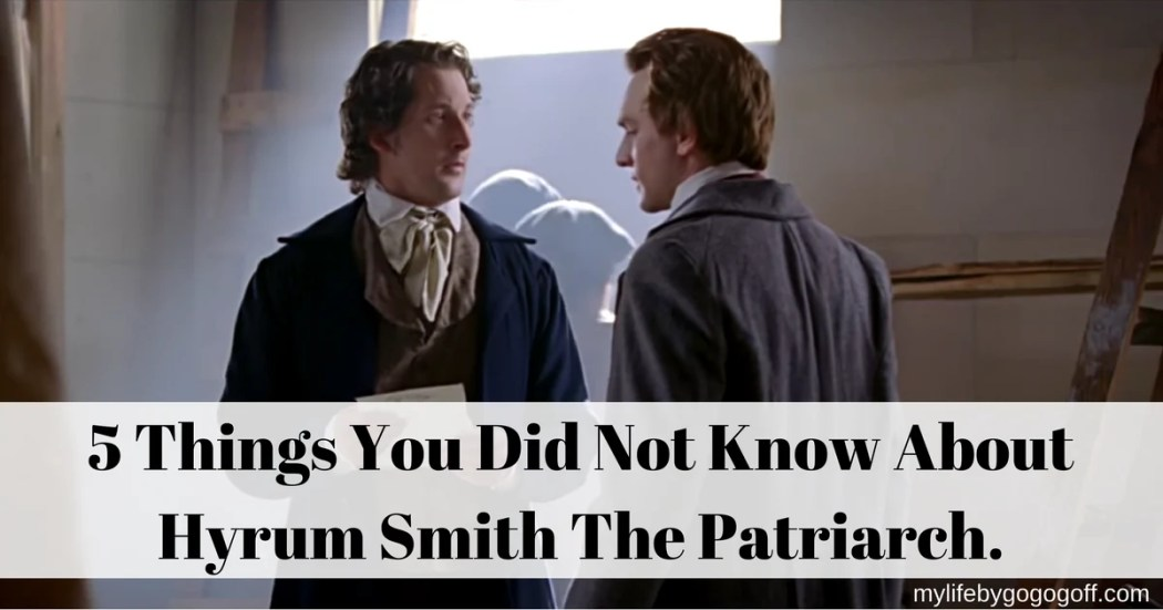 Hyrum's legacy may not be well known, but Joseph counseled us to learn it and follow it. Here are 5 Things You Did Not Know About Hyrum Smith The Patriarch.