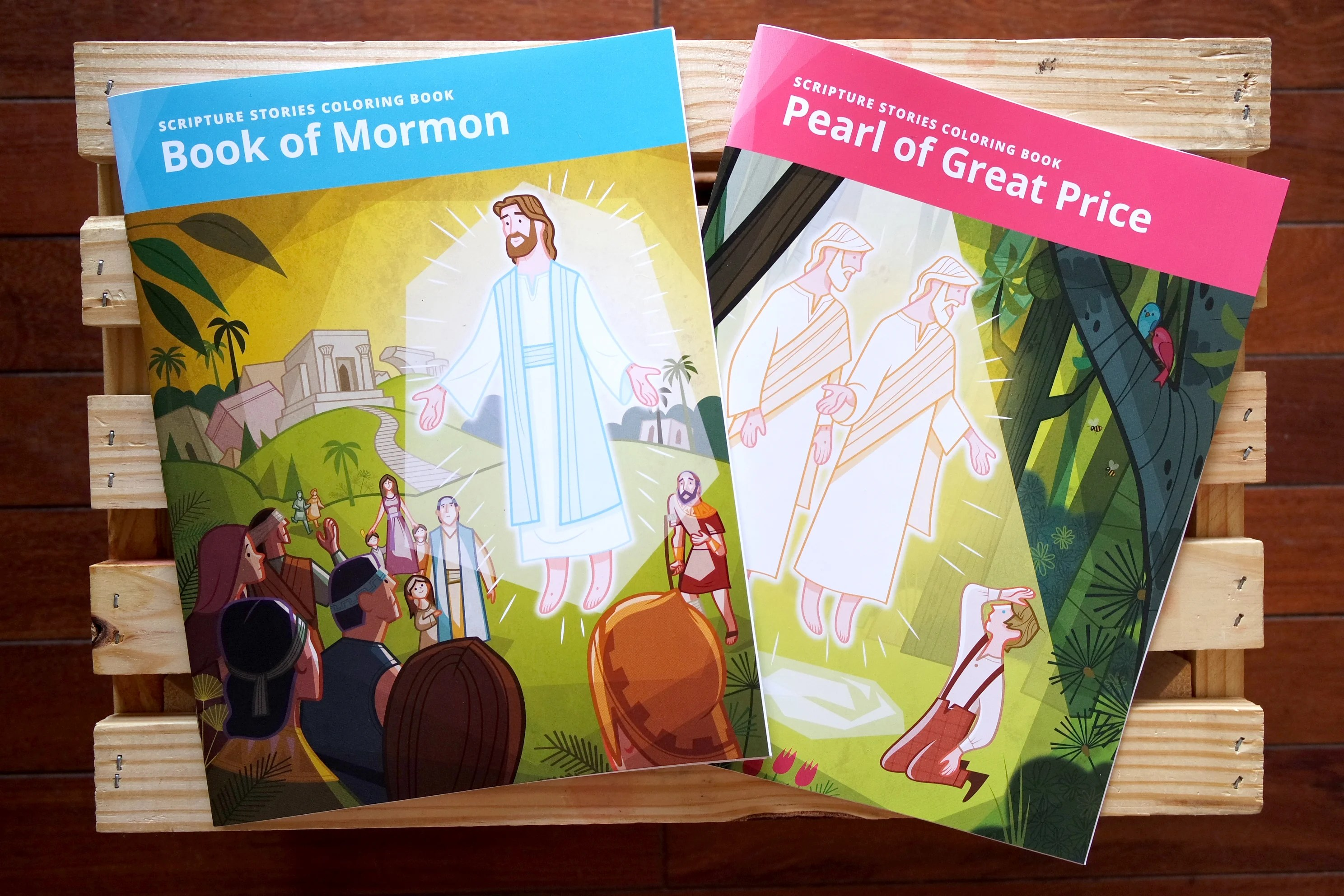 Lds Coloring Pages Pdf : Scripture time with kids just got easier new lds coloring books