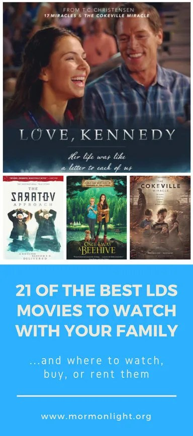 21 of the best lds movies to watch with your family