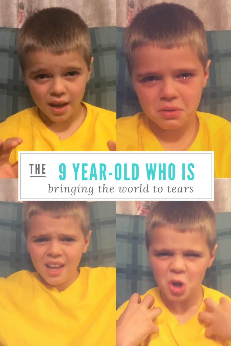 The testimony of this 9 year-old child is bringing the world to tears.